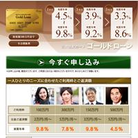 三井住友カードゴールドローン カードローンウェブサイト